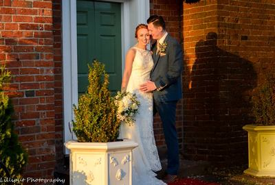 Bride and groom portraits. Autumn wedding photography. West Midlands Wedding Photography. The Barns Hotel Cannock