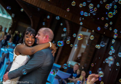 Bride and groom first dance on their wedding day, by Lilliput Photography, West Midlands Wedding Photographer